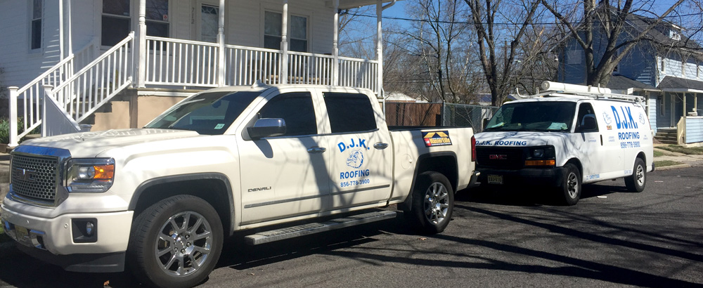 DJK Roofing in South Jersey